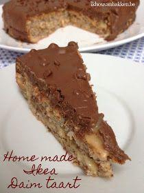 Ik hou van bakken: Home made Ikea Daim taart (glutenvrij)