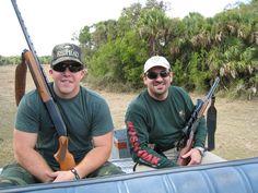Erik and Adrien  - FL Pig Hunt 2011