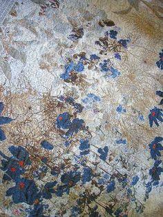 Grand foulard Prosperity, jacquard weave, designed by Irene van Vliet www.wovenwonders.nl