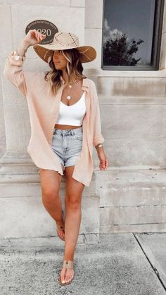Aug 4, 2021 - What you need to know to get started. lightweight summer layers //outfit from lulus. Layered Summer Outfits, Casual Chic Summer, Summer Outfits Women, Spring Outfits, Summer Travel Outfits, Casual Dinner Outfit Summer, Outfit Ideas Summer, August Outfits, Date Night Outfit Summer