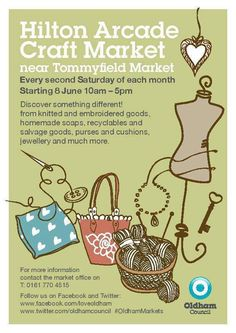 Hilton Arcade Craft Market Saturday 10th August