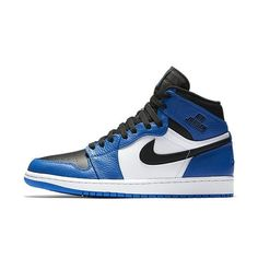 finest selection f76aa b17a0 Original New Arrrival Official Nike Air Jordan 1 Men s Retro High-Top  Basketball Shoes Sports Sneakers