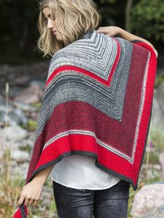 Nordic Yarns and Design since 1928 Chunky Knit Scarves, Shawl Patterns, Scarf Wrap, Ravelry, Bell Sleeve Top, Pullover, Boho, Sewing, Knitting