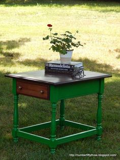 Emerald Side Table | General Finishes Design Center