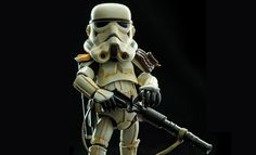 The Herocross Sandtrooper Collectible Figure is now available at Sideshow.com for fans of Star Wars Episode IV A New Hope.