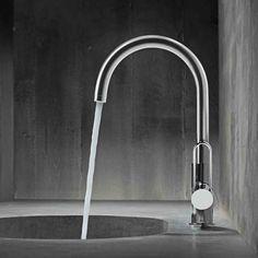 Hansgrohe Axor Uno: Die Waschtischarmatur überzeugt Durch Einen Vollen,  Weichen Strahl Durch Mit Luft Angereichertes Wasser (AirPower).
