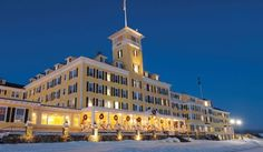 Mountain Grand View Hotel New Hampshire. Easily the most fabulous place to vacation in the winter months in New Hampshire.