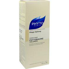 PHYTO PHYTOBAUME Volumen Pflegespülung:   Packungsinhalt: 150 ml Haarspülung PZN: 09685608 Hersteller: Ales Groupe Cosmetic Deutschland…
