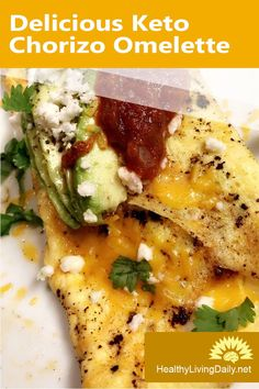 Delicious Keto Chorizo Omelette