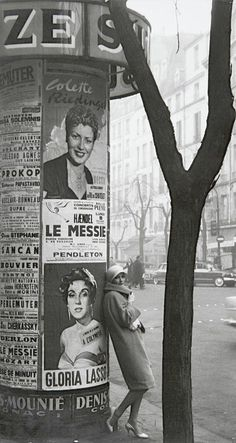 photo by frank horvat, 1960 (paris)