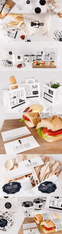 The use of exciting typography can give your food packaging a fun personality and make your product stand out from the rest.