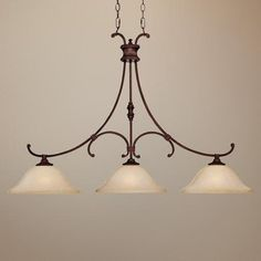 """Hill House Collection Burnished Bronze 45"""" Wide Chandelier"""