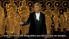 And also for this year. | Jennifer Lawrence's 19 Best Moments At The Oscars
