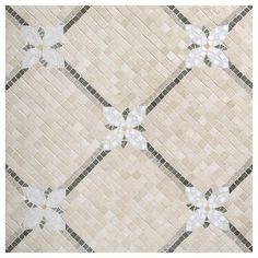 Mosaic Masterworks~Floral Lattice Pattern