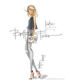 Brittany Fuson: Katie + Pamela