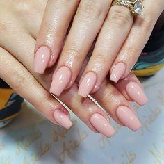 WEBSTA @ariela_nails Natural nails@aminnabekteshi