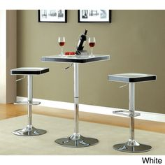 Shop for Furniture of America Jetson Adjustable ABS Swivel Bar Table. Get free…