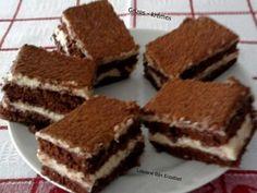 Érdekel a receptje? Kattints a képre! Hungarian Desserts, Hungarian Recipes, Hungarian Food, Cookie Recipes, Dessert Recipes, Cold Desserts, Something Sweet, Cakes And More, Cake Cookies