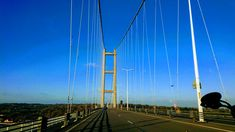 History of The Humber Bridge - Reeds Country Hotel Tag System, Kingston Upon Hull, North Tower, Country Hotel, One Hundred Years, Bridge Design, Suspension Bridge, Commercial Vehicle