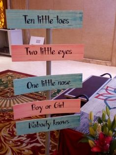 Ten Tiny Toes Boys Blue Mummy to Be GUESS MUMS TUM BABY SHOWER GAME