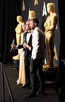 Fifty Shades Updates: HQ PHOTOS: Dakota Johnson and Jamie Dornan at the Oscars Press Room