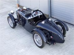 1936 MG TA Q-Type Special