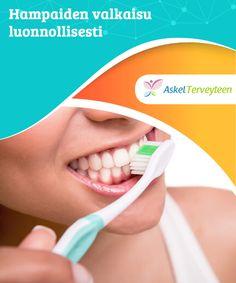 Hampaiden valkaisu luonnollisesti  Nykyään markkinoilla jyllää useita tuotteita hampaiden valkaisuun. Tuotteet ovat kuitenkin #valmistettu hampaisiin tunkeutuvista ainesosista, jotka #vahingoittavat kiillettä peruuttamattomasti. Mikäli haluat valkaista hampaasi, kokeile äärimmäisten keinojen sijaan näitä #luonnollisia keinoja  #Kauneus