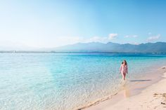 Two hours off the coast of Bali lies three desert islets, called the Gili Islands. They are the epitomy of a tropical paradise.