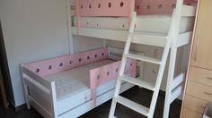 Κρεβάτι κουκέτα σουηδικό ξύλο λάκα. ΕΠΙΠΛΑ ΚΑΦΡΙΤΣΑΣ Bunk Beds, Furniture, Home Decor, Decoration Home, Double Bunk Beds, Room Decor, Home Furnishings, Bunk Bed, Arredamento