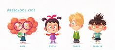 Character design vol.1 on Behance ★ Find more at http://www.pinterest.com/competing/