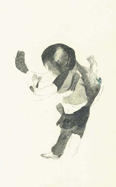 María Mantella - Referencia dibujos con la mano izquierda.