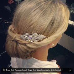 grace kelly hair | Grace Kelly style hair by Luna at MISS FOX ... | Hair inspiration