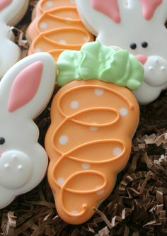 Carrot Cookie so adorable. Love these perfect for the grand kids