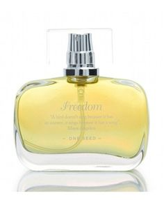 Freedom - One Seed (for women) - Top notes: pink grapefruit, palmasrosa, rosewood. Heart notes: magnolia, rose, black pepper, gardenia. Base notes: sandalwood, ambrette seed, benzoin.