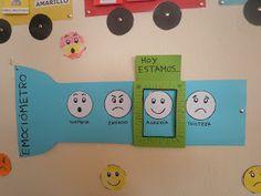 Nuestro compañero Diego ha realizado en todas las clases de Educación Infantil y Primer Ciclo, el EMOCIÓMETRO, para conocer ¿Cómo se sienten...