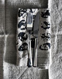 Linen napkins. Linen Napkins, Cotton