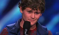 "Drew Lynch, the first-ever ""Golden Buzzer"" on America's Got Talent Season 10 (2015)!"