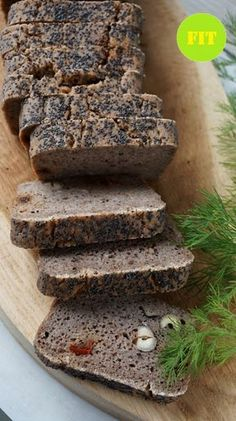 Chleb trzyskładnikowy (bezglutenowy, bez drożdży) Gluten Free Recipes, Bread Recipes, Vegan Recipes, Easy Recipes, Clean Eating, Healthy Eating, How To Make Bread, Free Food, Easy Meals