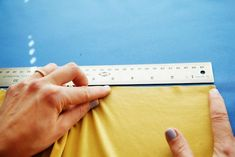 How to alter a bra band pattern based on the stretch of your fabric.