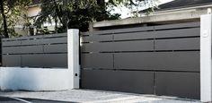 House Main Gates Design, Front Gate Design, Steel Gate Design, Door Gate Design, Fence Design, House Design, House Front Gate, Front Gates, Entrance Gates