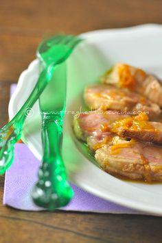 filetto di maiale caramellato all'arancia by streghettaincucina             #recipe     #juliesoissons