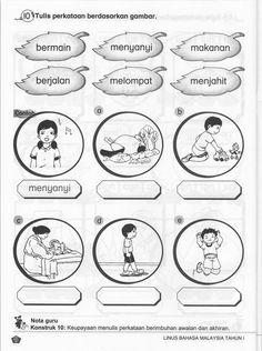 Bahasa Bahasa Malay Melayu Latihan Bm Latihan Bm Thn 1 Malaysia Tahun  Wallpaper - Gallery Tadika