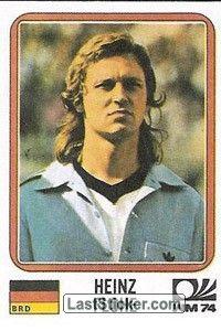 Sticker 95: Heinz Flohe - Panini FIFA World Cup Munich 1974 - laststicker.com