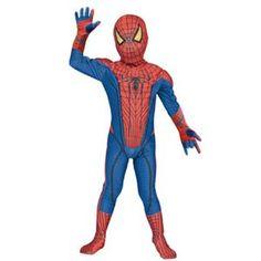 【コスプレ】 RUBIE'S(ルービーズ) 95045S The Amazing Spider Man Child S スパイダーマン - 拡大画像