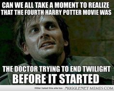Doctor who / Twilight funny meme