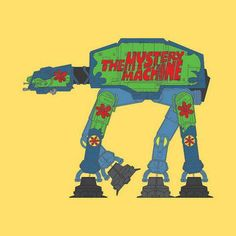 #Mashup AT-AT Mystery Machine.