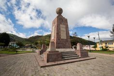 Ecuador Adventure. Our exploration of the mountainous heartland of Ecuador will take us to the Equator, from which the country was named. Here we visit the Monument to the Equator and we can stand with one foot in the Northern Hemisphere and one foot in the Southern Hemisphere.