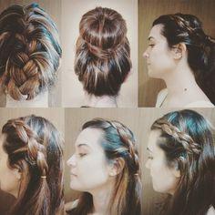 O blog do Armário Criativo está cheio de sugestões de como incrementar seus looks! Hoje tem dicas de penteados fáceis e fofos! O link está na nossa bio!
