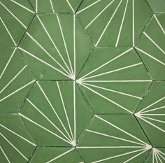 Marrakech Design concrete tiles in Dandelion-lawn-milk