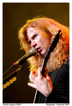 Megadeth's Vocal Dave Mustaine!!